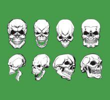 Different Skulls Kids Clothes