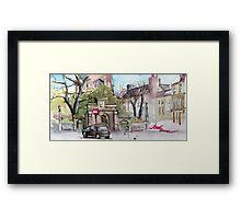 Newport, Shropshire Framed Print