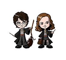 harry potter and hermione kids Photographic Print