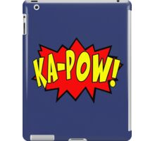 Ka-pow Pop Art Comic iPad Case/Skin