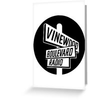 Vinewood Boulevard Radio Greeting Card