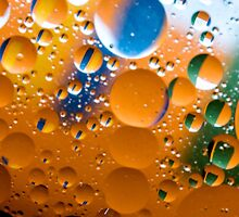 Multiverse Peach & Green by TRFoto