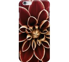 Dahlia - Red & Yellow iPhone Case/Skin
