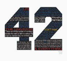 Hitchhiker's Guide 42 Quotes by zenjamin