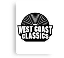 West Coast Classics Canvas Print