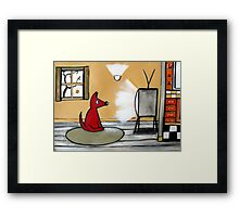 Watch Dog  Framed Print