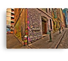 Hosiers Lane Canvas Print