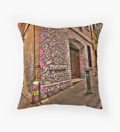 Hosiers Lane Throw Pillow
