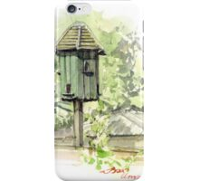 A Bird House  iPhone Case/Skin