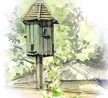 A Bird House  by bakuma
