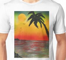 Tropical Sunset Unisex T-Shirt