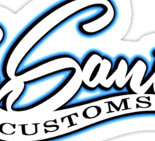 Los Santos Customs Sticker