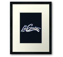 Los Santos Customs Framed Print