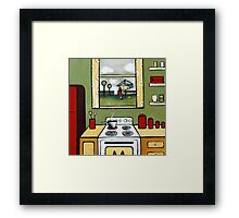 Domesticity Framed Print
