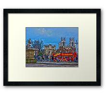 Bootham Bar, York, England in HDR Framed Print