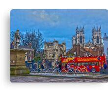 Bootham Bar, York, England in HDR Canvas Print