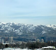 Salt Lake City Utah by CynLynn