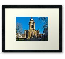 St Philips, Birmingham Cathedral, England, UK Framed Print