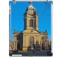 St Philips, Birmingham Cathedral, England, UK iPad Case/Skin