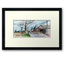 Tibberton Manor Farm, Shropshire Framed Print