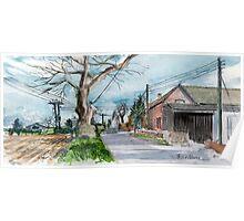 Tibberton Manor Farm, Shropshire Poster