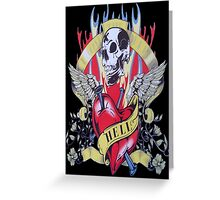 LoveSkull Greeting Card