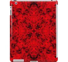"""Spirit of India: Cross-Fleur"" in deep red iPad Case/Skin"