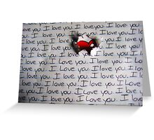 I Love You.. (1) - Valentine Greeting Card