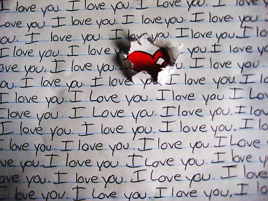 I Love You.. (1) - Valentine by hallucingenic