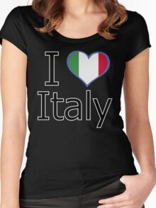 I love Italy Women's Fitted Scoop T-Shirt