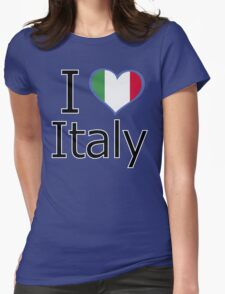 I love Italy Womens Fitted T-Shirt