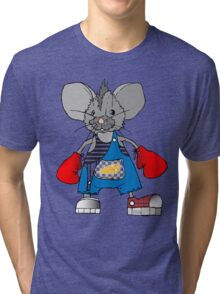 Mice Mike Mouse Boxer Tri-blend T-Shirt