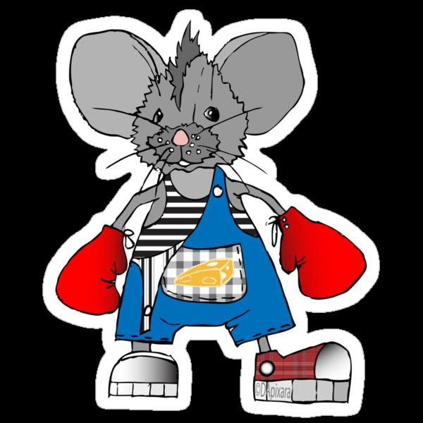 Mice Mike Mouse Boxer by DApixara