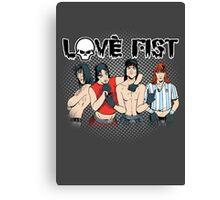 Love Fist Canvas Print