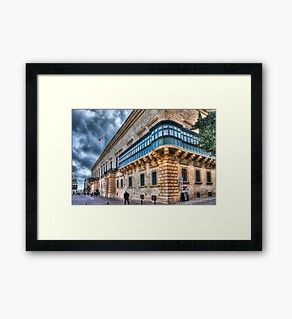 The Grandmaster's Palace Framed Print