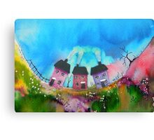 Cosy Cottages Canvas Print