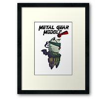 Metal Gear Moogle Framed Print