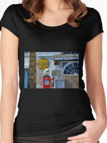 Those Were the Days........... Women's Fitted Scoop T-Shirt