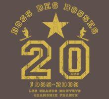 2009 BOSS DES BOSSES T-Shirt by Adam Johnston