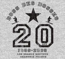 BOSS DES BOSSES 2009 A by Adam Johnston