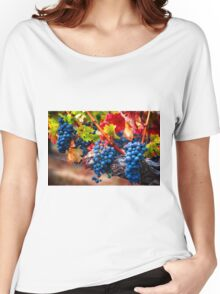 Fruit of Napa Valley I Women's Relaxed Fit T-Shirt