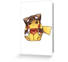 Pokemon-Pika Greeting Card