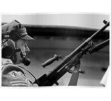 1940 Anti Tank Squad gunner Poster