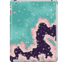 Pink and Mint Rift Galaxy iPad Case/Skin
