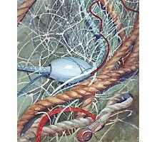 Fishing Net Photographic Print