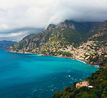 Amalfi Coastline by George Oze