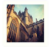 Bath Abbey Art Print