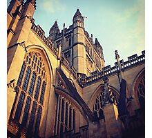 Bath Abbey Photographic Print