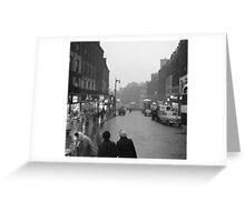 1950s Leith Street, Edinburgh Greeting Card