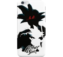 Father and son Dragon Ball Z iPhone Case/Skin